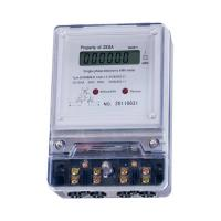 High Reliability 3 Phase 4 Wire Static Watt Hour Meter With 7 Digits LCD Display