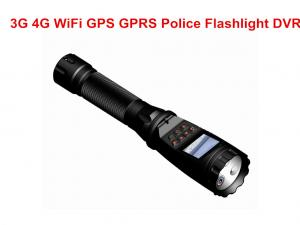 China 3G / 4G Police Security Flashlight MTK8735 Chipset With 3600 MAH Battery on sale