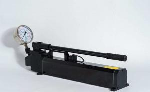 China Compact Hydraulic Press Hand Pump / Fast Speed Hand Powered Hydraulic Pump on sale