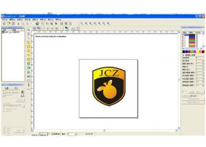 China EZCAD Laser Engraving Software With Camera / Fly Mark / Double Axis on sale