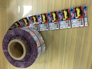 China Multi Color Printed Plastic Film / Plastic Packaging Film Leak Proof on sale
