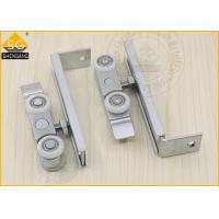 China Zinc Alloy Sliding Door Hardware Wardrobe Door Roller 90*26*30mm on sale