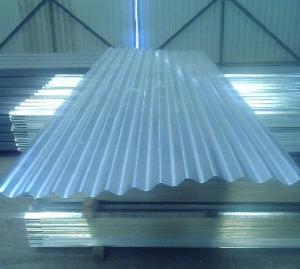 China SGCC, SGCH, G550 JIS hot dipped Steel Galvanized Corrugated Roofing Sheet / sheets on sale