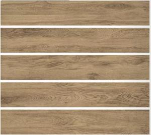 China Brown 200x1200MM Wood Effect Ceramic Tiles Matt Surface For Floor / Wall on sale