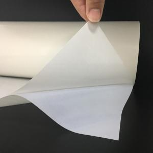 China PES Hot Melt Glue Sheets Heat Resistant , Self Adhesive PVC Polyester Adhesive Film on sale