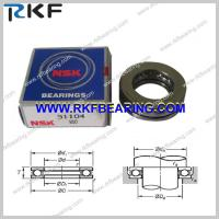 Single Row Thrust Ball Bearings SKF 51104, FAG 51104, NTN 51104