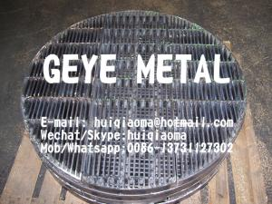 China Tower Packing Support Beds, Welded SS Bar Gratings Close Mesh Metal Grid for Dehydrator on sale