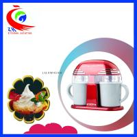 20W Snack Making Machine Nostalgia Electrics 1L Mini Ice Cream Maker