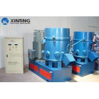 China Soft PVC LDPE PET Fibres Plastic Granules Making Machine Air Drive Discharge on sale
