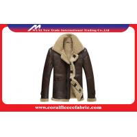Surper-Thick Warm Leather Mens Outdoor Jackets Winter Mens Overcoats