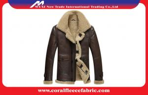 China Surper-Thick Warm Leather Mens Outdoor Jackets Winter Mens Overcoats on sale