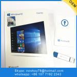 Genuine Korean Microsoft Windows 10 Home fpp / OEM Software download 64 bit USB license activation win 10 home