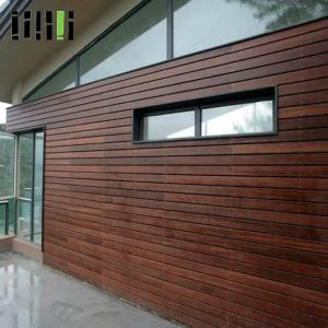 China Deco Home Timber Bamboo Wall Cladding Fire Resistance Easy Installation on sale