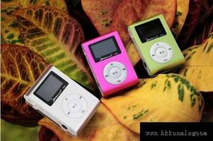 China Clip MP3 Player with Screen on sale