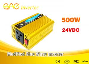 China Dc to ac high frequency modified sine wave 24v inverter 500w 220v inverter on sale