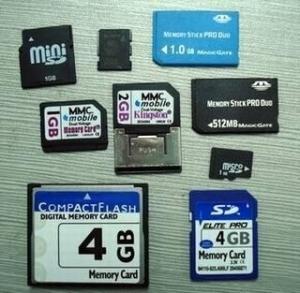 China CF Card/SD Card/DV MMC Card/Micro SD Card/Mini SD Card/MS PRODUO/M2 Cards on sale