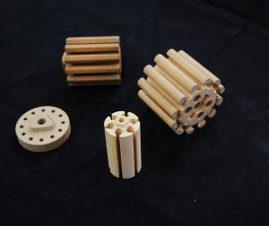 China Porous Ceramic Tubes, Cordierite Ceramics Part For Microelectronics Industry on sale