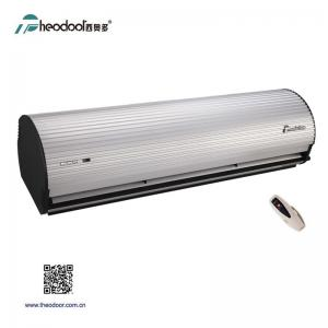 China Remote Control Theodoor Air Curtain In Aluminum Cover For Door Ventilation Saving Indoor Air Conditioning With CE on sale