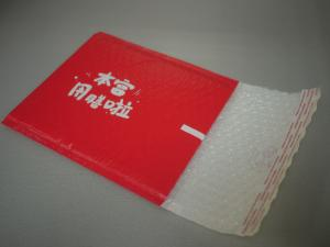 China Red 10.5 X 16 Bubble Mailer Bag , #5 Poly Bubble Envelopes Puncture Resistance on sale