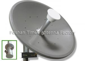 China 34dBi Solid Dish MIMO Dish Antenna Ф 1.2m Vertical & Horizontal Polarization on sale