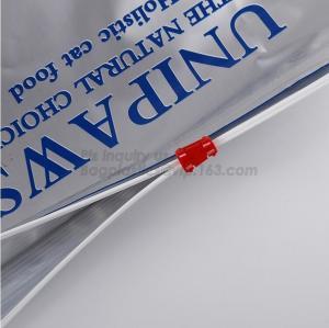 China slider zipper for pet food bag/Pet Dog Food Plastic Bags, pet plastic animal feed dog food bag, Packaging Dog Food on sale