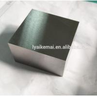 high purity 99.95% 1kg tungsten cube with ground surface finish