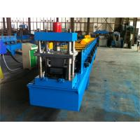 3 Tons Decoiler Door Frame Roll Forming Machine 40GP Container