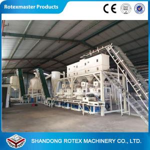 China Automatic Fuel Energy Biomass Wood Pellet Production Line for Rice Husk on sale