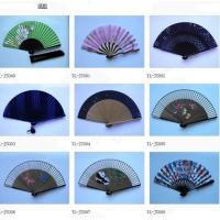 China Hand fan of bamboo folding fan on sale