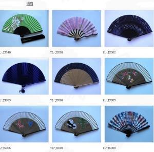 China Hand fan of bamboo folding fan on sale