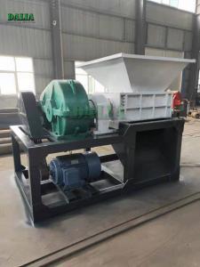 China Coconut Husk Copper Wire Single Shaft Shredder Machine 220V / 380V Voltage on sale