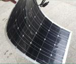 350 Watt factory direct sales thin film semi flexible solar panel system for motorhomes