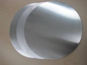 China Hot Rolled Aluminium Discs Circles , Blank Aluminum Discs Low Anisotropy on sale