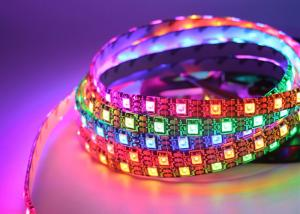 China Bendable Digital RGB IP20 Ws2812b Led Strip Ws2812 Accept Customized For Decoration on sale