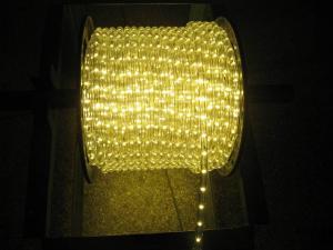 China warm white led rope light for Christmas decoration on sale