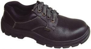 China SJNO.9148 embossed leather upper dual pu outsole safety work shoes on sale