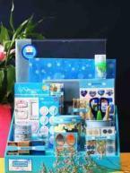 China Charming blue paper Scrapbook kit on sale