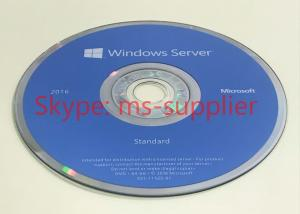 Quality Windows Server 2016 OEM DVD 64 Bit Full Version Original Activation Lifetime for sale