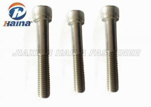China A4 Stainless steel Metric Socket Head Cap Screw Allen Bolt M12 Machinery DIN 912 on sale