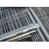 Removable Builders Temporary Fencing Panel 50 X 200mm Mesh Size 1.8x2.1 Meter
