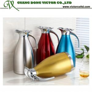 China Stainless steel water Jug Cold water bottle Single Layer 1.6L, 2.1L, 2.6L V-KFHL on sale