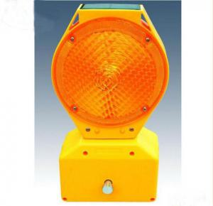 China High Visible Wireless Solar Led Traffic Warning Strobe Light For Road Construction on sale