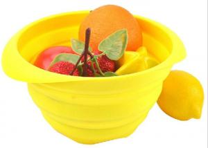 China Fruit Vegetable Silicone Bowl on sale
