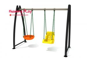 China 0.8cbm Commercial Playground Swings 2mm Thickness Food Grade Plastic Wide Color Range on sale