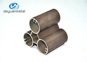 China Aluminum Powder Coating Black Extrusion Profile 6063-T5 For Decoration on sale