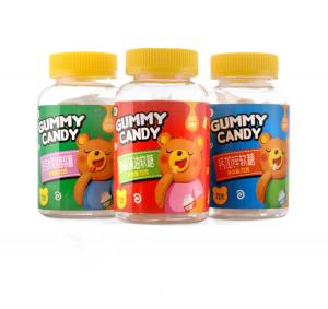 China Delicious Mixed Fruit Gummy Bears / Gummy Bear Sweets Individual Bag Wrapped on sale
