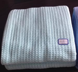 China 100% Cotton Hospital Thermal Blankets,Waffle Blankets,Cellular Blankets on sale