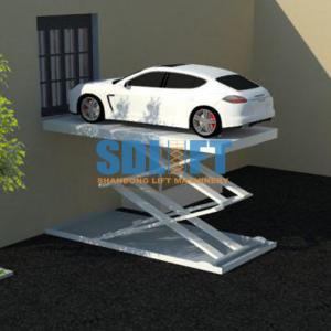 3T 5 6M Hydraulic Scissor Car Lift For Home Garage Portable
