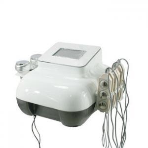 China RF Skin Tightening Cavitation Ultrasonic Slimming Machine With LED Light + BIO Plates on sale
