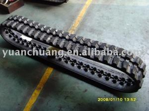 China Rubber Crawler,rubber track,harvester on sale